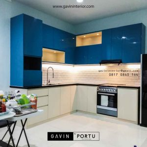 finishing duco glossy kitchen project di pik id3391