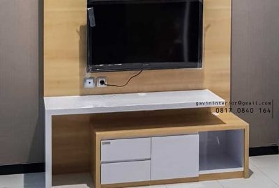 contoh backdrop tv simple dan minimalis di Bekasi id3415
