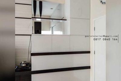 design partisi minimalis modern di kebayoran residence id3549
