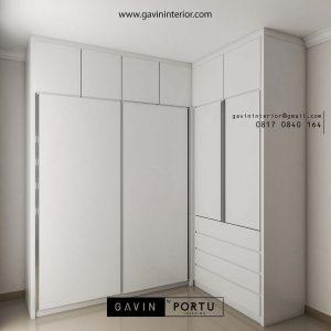 lemari sliding door 4 pintu design minimalis id3586