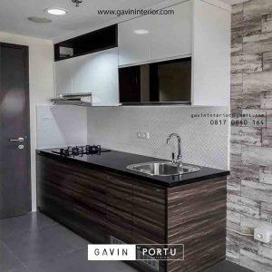 contoh kitchen set design minimalis produksi Gavin by Portu id3651