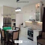contoh kitchen set dapur kering semi klasik project Kemanggisan id3292