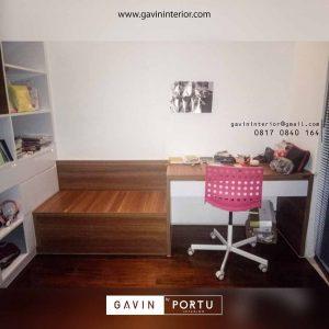 bench storage minimalis untuk belajar Gavin by Portu