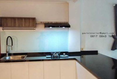 design kitchen set minimalis modern kombinasi warna id3377