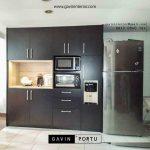 model lemari dapur kering untuk dispenser dan oven id3447