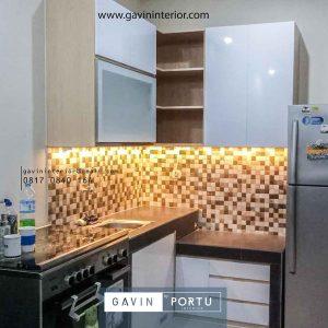 Buat Model Kitchen Set Letter L Minimalis Brigif Mansion Jagakarsa Jakarta Selatan