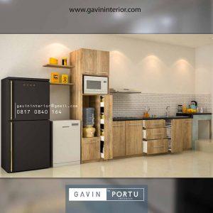 Pesanan Desain Lemari Dapur Multifungsi Pondok Sukatani Permai Tapos Depok