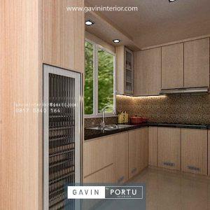 Referensi Gambar Kitchen Set Dapur Kecil Baranangsiang Indah Bogor