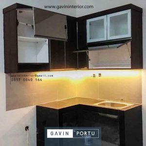 Review Proses Pembuatan Kitchen Set HPL Villa Ilhami Tangerang Gavin by Portu