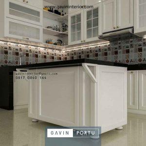 Project Pembuatan Desain Kitchen Set Klasik Modern Kemang Pratama Regensi Bekasi
