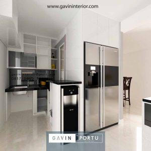 Terbaru Contoh Kitchen Set Motif Batik Pejaten Barat Jakarta Selatan Gavin by Portu