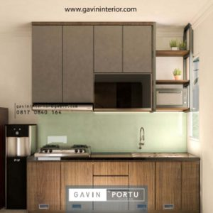 Buat Desain Kitchen Set Minimalis Modern Di Cluster Thomson Scientia Garden Serpong Hubungi Gavin By Portu