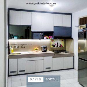 Informasi Harga Kitchen Set Minimalis Modern Di Griyaloka BSD Gavin by Portu