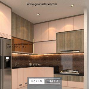 Hasil Pasang Kitchen Set Minimalis Modern Terbaru Klien Sitara Alam Sutera Tangerang id4142p