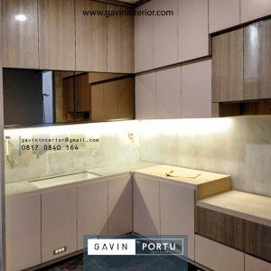 Hasil Pasang Kitchen Set Minimalis Modern Terbaru Klien di Sitara Alam Sutera Tangerang id4142p