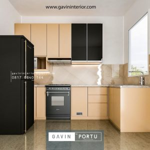 Review Kitchen Set HPL Kombinasi Cermin Desain Minimalis Jl Taman Ubud Loka Lippo Karawaci Tangerang id4307p
