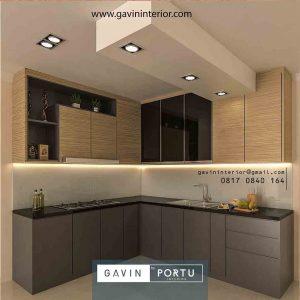 jual kitchen set terbaru kombinasi warna