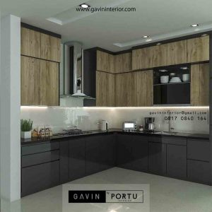Jasa Kitchen Set Desain Custom Model Sesuai Selera id3404