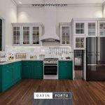 Kitchen set custom model terbaru 2020