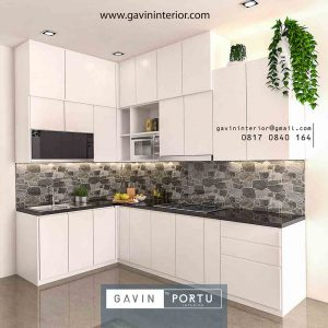 110+ Gambar Kitchen Set Warna Putih Paling Favorit
