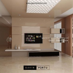 Ide Terbaru Backdrop TV Ruang Keluarga Yang Cantik