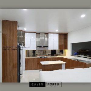 Jasa Buat Kitchen Set Warna Putih Perumahan Taman Bona Indah Lebak Bulus Cilandak Id4768PT