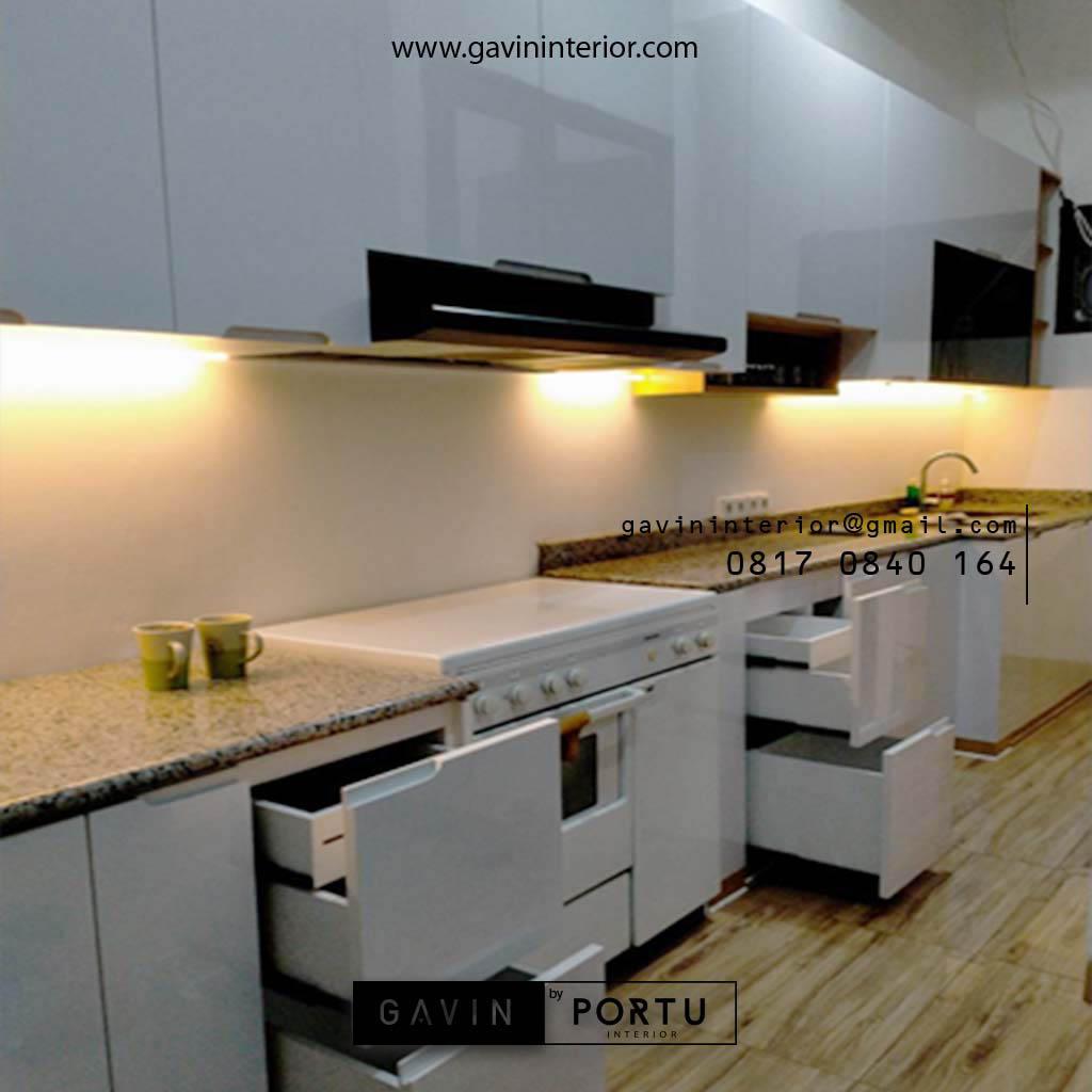 Kitchen Set Warna Putih Tanjung Barat Jagakarsa Jakarta ...