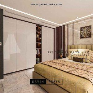 Gaya Desain Interior Lemari Sliding Minimalis Mewah Modern