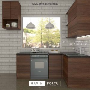 100+ Contoh Kitchen Set Motif Kayu Model Paling Favorit ID3065