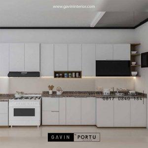 Bikin Kitchen Set Warna Putih Perumahan Jasmine Residence Tanjung Barat Jagakarsa Jakarta Id4659T