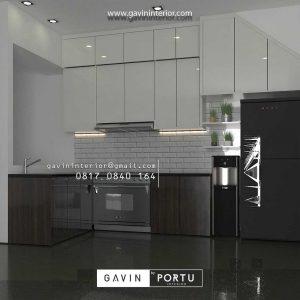 Jual Kitchen Set UPVC Anti Rayap dan Lembab Custom Berbagai Model