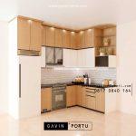 Bikin Kitchen Set Warna Putih & Motif Kayu Bintaro Sektor 4 Pondok Aren Tangerang Id4465P