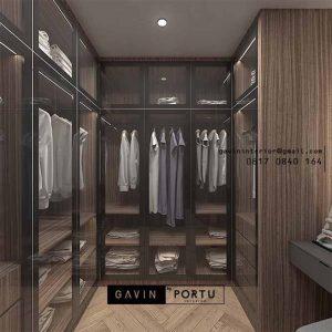 Cantik banget walk in closet finishing HPL