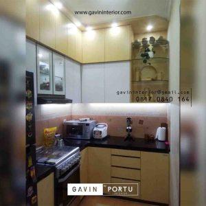 Jasa Kitchen Set Warna Putih & Motif Kayu Bintaro Sektor 4 Pondok Aren Tangerang Id4465P