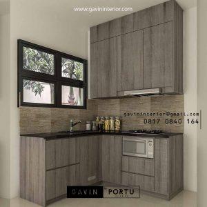 Harga Kitchen Set Motif Kayu Suvarna Sutera Cikupa Sindang Jaya Tangerang Id4897P