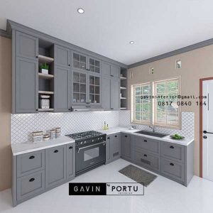 Design Lemari Dapur Bergaya American Stye ID4935PT
