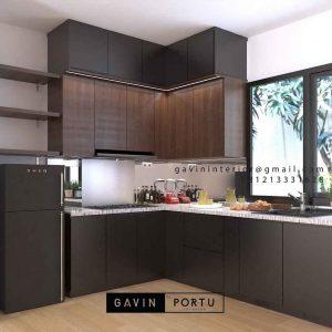 Gambar Lemari Dapur Design Mininalis Modern ID4773P