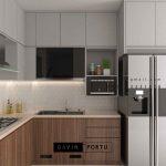 Harga Kitchen Set Minimalis Mungil Paling Optimal Id5008PT