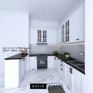 Terbaru Lemari Dapur Custom Terbaik 2021 ID4901PT